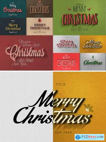 Christmas Text Effects Vol.2 2118863