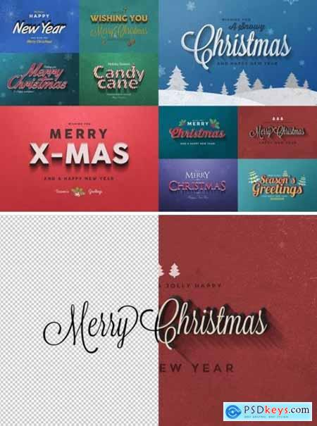 Christmas Text Effects Vol.1 2118867