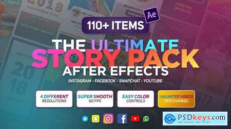 Videohive The Ultimate Story Pack AfterEffects ( Last Update 28 October 19 ) 23087236