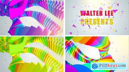 Videohive Colorful Tentacle Logo Reveal 12632547