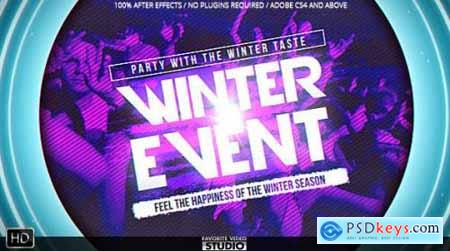 Videohive Winter Music Afterparty 9895305