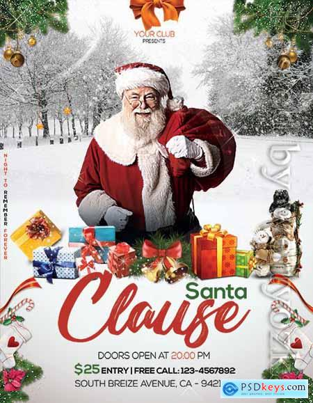 Santa Clause - Premium flyer psd template