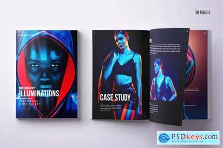 Creative Portfolio A4 & US Letter Design - 30 pgs