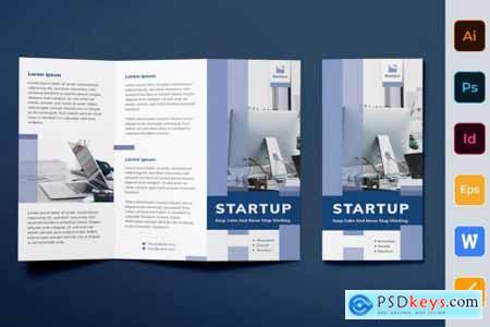 Startup Brochure Trifold