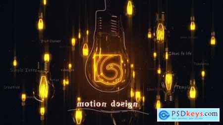 Videohive Light Bulbs Intro 25161618