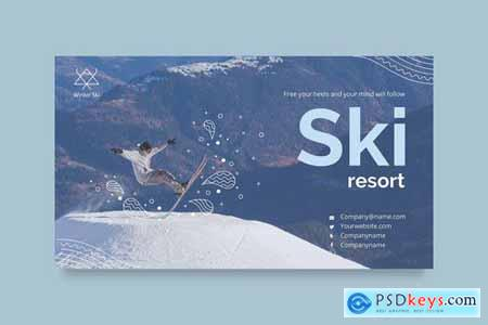 Ski Resort PowerPoint Presentation Template