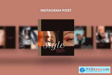 Cosmetic - Instagram Post Template