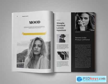 Monochrome Magazine Template