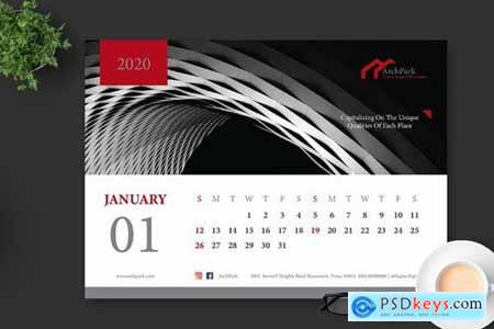 2020 Architect Building Office Calendar Pro