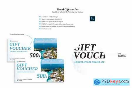 Travel Gift voucher