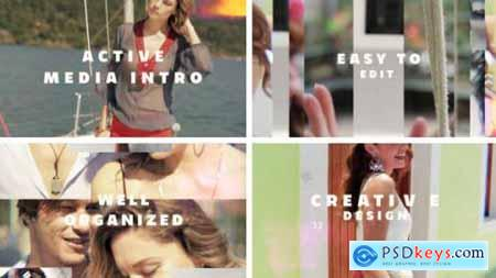 Videohive Active Media Intro 20276537