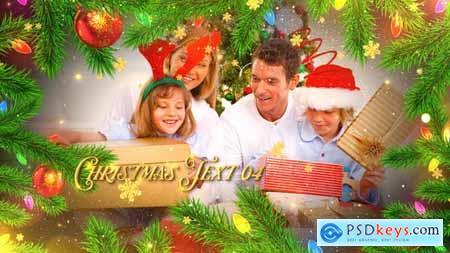 Videohive Christmas Celebration Slideshow 25145870