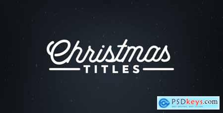 Videohive Christmas Titles 21020949