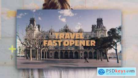 Videohive Travel Fast Opener 20288043