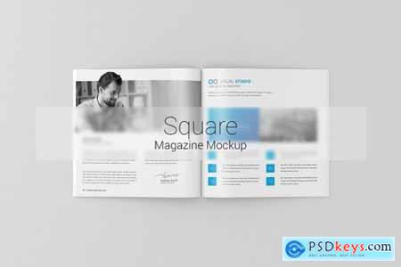 Square Magazine - Brochure Mock-Up