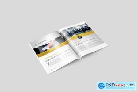 US Letter Magazine - Brochure Mockup