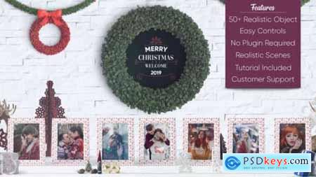 Videohive Christmas Photo Gallery 22936104