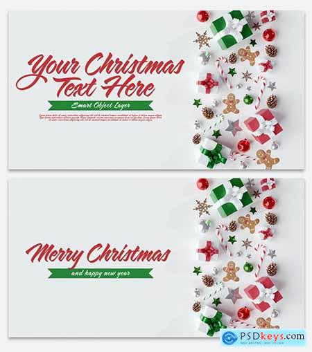 Christmas Scene Mockup 300737353