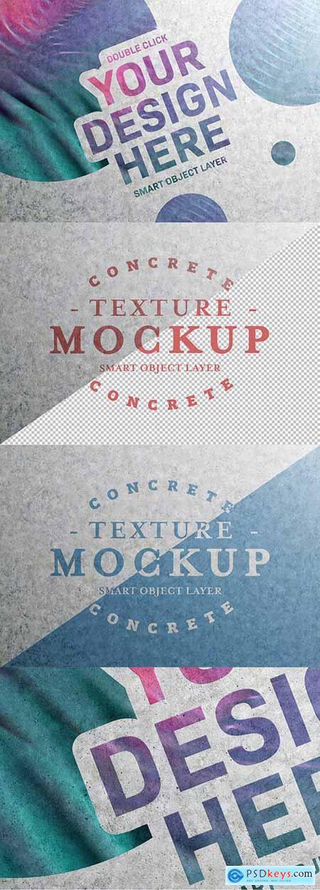 Concrete Text Effect Mockup 298937625