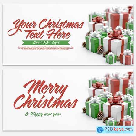 Christmas Scene Mockup 300737744