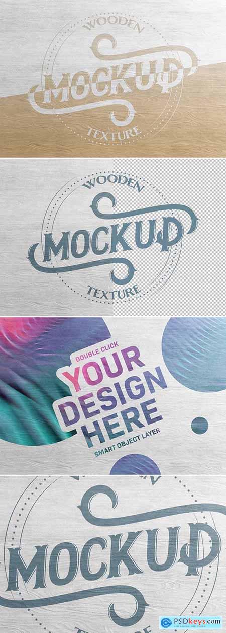 Wood Texture Mockup 302282451