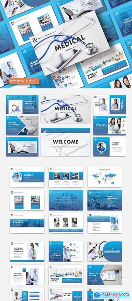 Medical - Powerpoint, Keynote and Google Slides Template