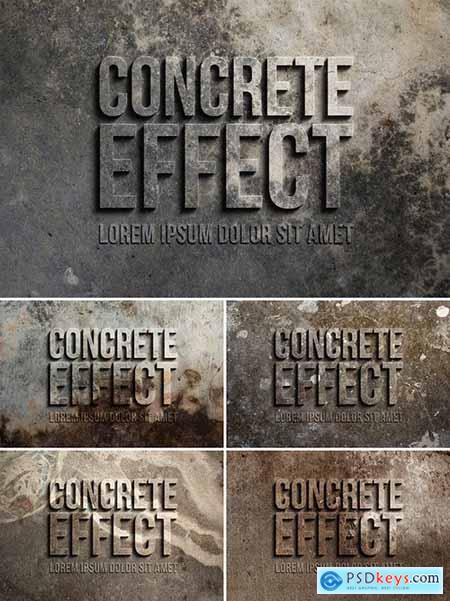 3D Concrete Text Effect 305784283