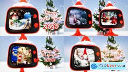 Videohive Christmas retro TV 806774