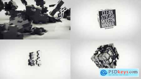 Videohive Dynamic Puzzle Logo Reveal 25164356
