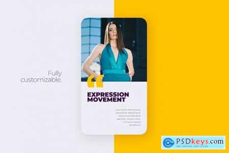 Expression - Instagram Story Template