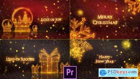 Videohive Christmas Greeting Card Premiere Pro 25133853