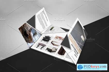 Gate Fold Interior Brochure - V901 3993438