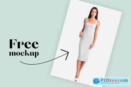 Female Elegant Dress Mockup Set 4250201