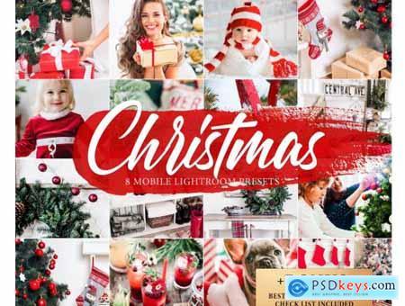 8 CHRISTMAS Lightroom Mobile Presets 4268676