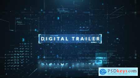 Videohive Digital Trailer 22972491