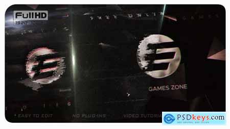 Videohive Glitch Logo 23365469