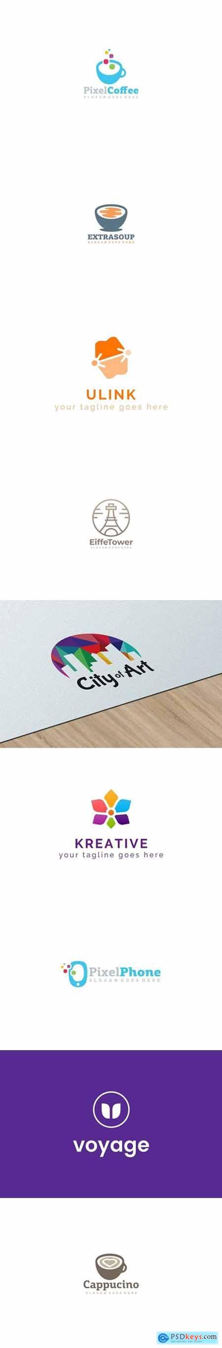 Creative Clean Logo Bundle 4