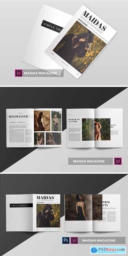 Maidas - Magazine Template