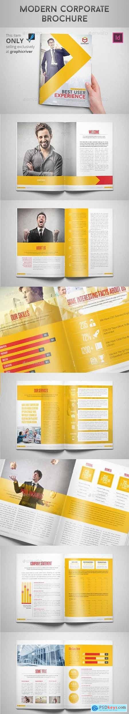 Modern Corporate Brochure 8923626