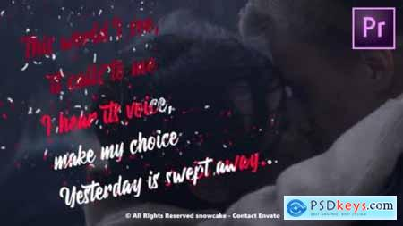 Videohive Lyrics Template Liquid Style For Premiere Pro 25098888
