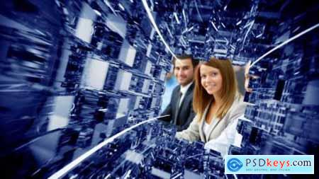 Videohive Glass Tunnel Opener 13333683