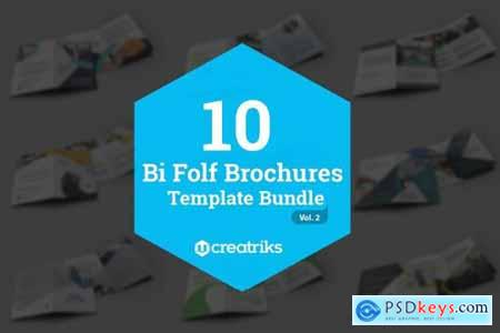 50 Bi-Fold Brochures Bundle 4268003