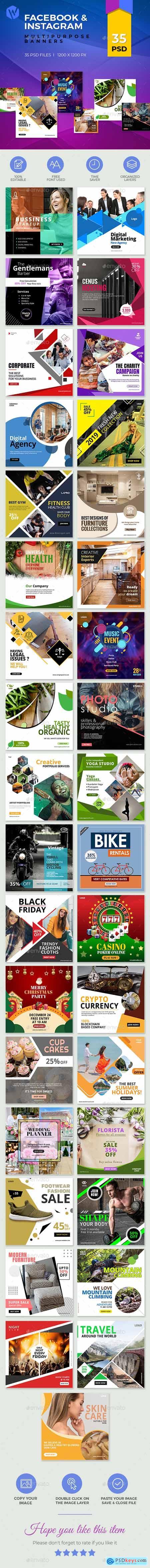 35-Facebook & Instagram Banners 25052343