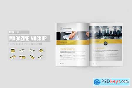 Magazine Mock-Ups Bundle 1429300