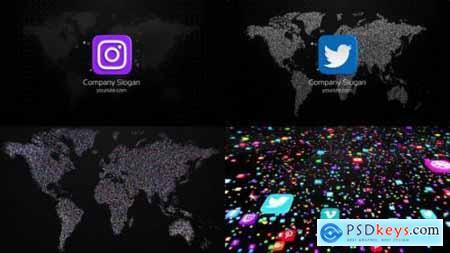 Videohive Social Media Opener 23544802