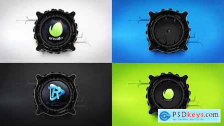 Videohive Mechanical Lens Logo Reveal 24553768
