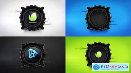 Videohive Mechanical Lens Logo Reveal 24553768
