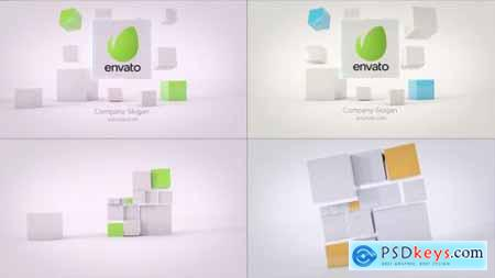 Videohive Business Cubes Dynamic Logos 23515668