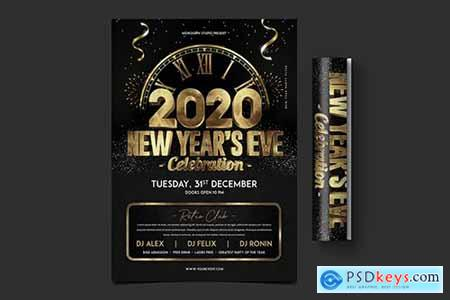 New Year Party Flyer682
