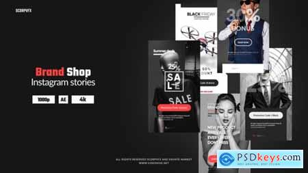 Videohive Instagram Stories Brand Shop 24911510